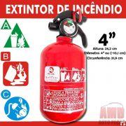 Extintor Incêncio Automotivo Carro ABC Inmetro 5 Anos 4