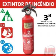 Extintor Inc�ncio Automotivo Carro ABC Inmetro 5 Anos 3