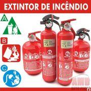 Extintor Incêncio Automotivo Carro ABC Inmetro 5 Anos