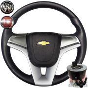 Volante Cruze Chevette Maraj� Chevy 500 + Cubo Grafite