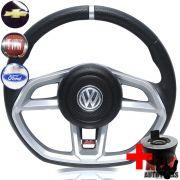 Volante Golf GTI Parati Saveiro Santana Quadrado + Cubo