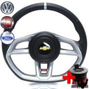 Volante Golf GTI Celta 01 a 05 Buzina Lateral + Cubo