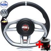 Volante Golf GTI Uno Premio Fiorino Elba Buzina Lateral + Cubo