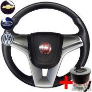 Volante Cruze Fiat 147 Europa Spazio + Cubo Grafite