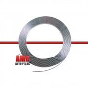 Rolo Filete Friso Prata Adesivo Carros Motos Universal 10 Mts 10mm