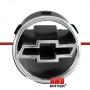 Gravata Emblema Grade Dianteira Corsa 99 a 01 Prata