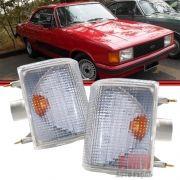 Lanterna Dianteira Opala Caravan 88 a 92 Cristal Acrílico