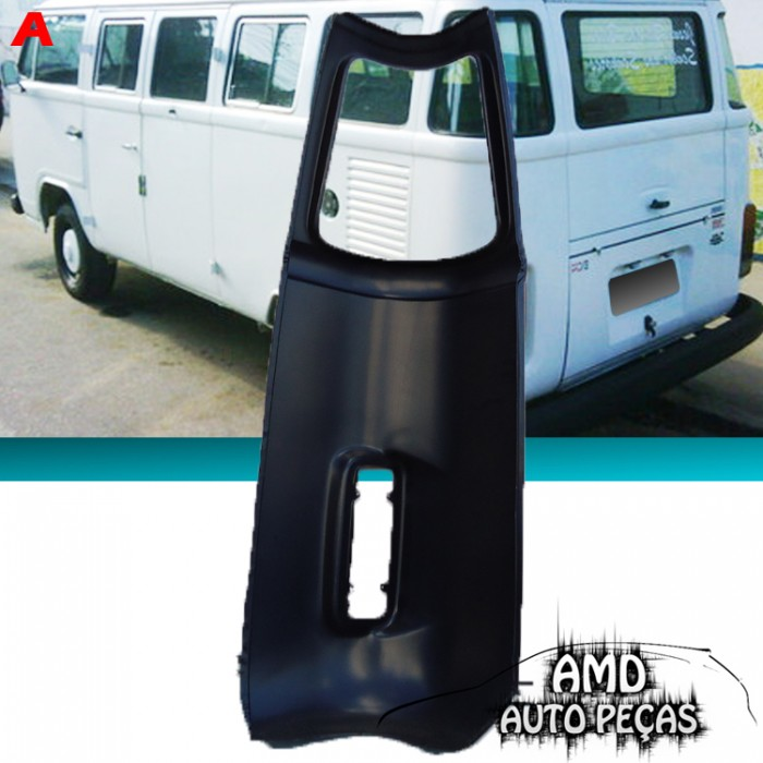 Curv�o traseiro Kombi 76 at� 97 Clipper Traseiro Esquerdo  - Amd Auto Pe�as