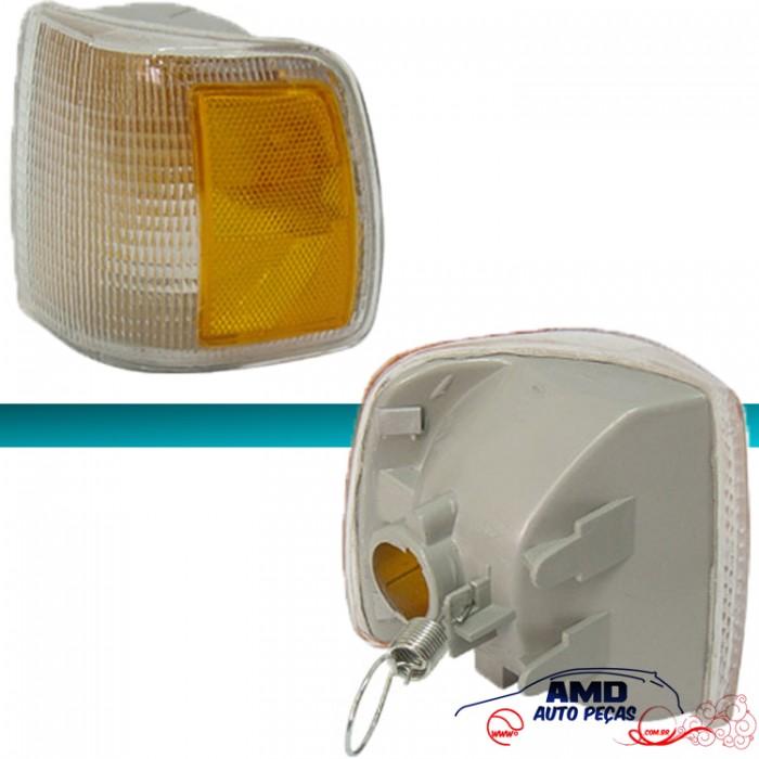 Lanterna Dianteira Gol Parati Saveiro Voyage 91 á 95 Cristal Pisca Amarelo Encaixe Cibié  - Amd Auto Peças