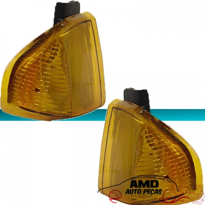 Lanterna Dianteita Escort 82 83 84 85 86 Amarelo  - Amd Auto Pe�as