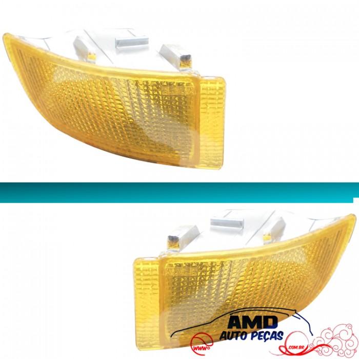Lanterna Parachoque Escort XR3 93 á 96 Inferior Amarelo  - Amd Auto Peças