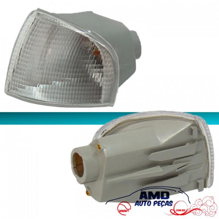 Lanterna Dianteira Gol Parati Saveiro 95 96 97 98 99 00 Bola GII G2 Cristal Encaixe Cibié  - Amd Auto Peças