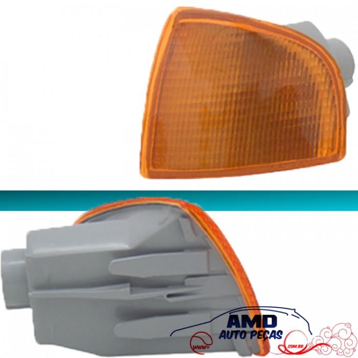 Lanterna Dianteira Gol Parati Saveiro 95 96 97 98 99 00 Bola GII G2 Amarelo Encaixe Cibié  - Amd Auto Peças