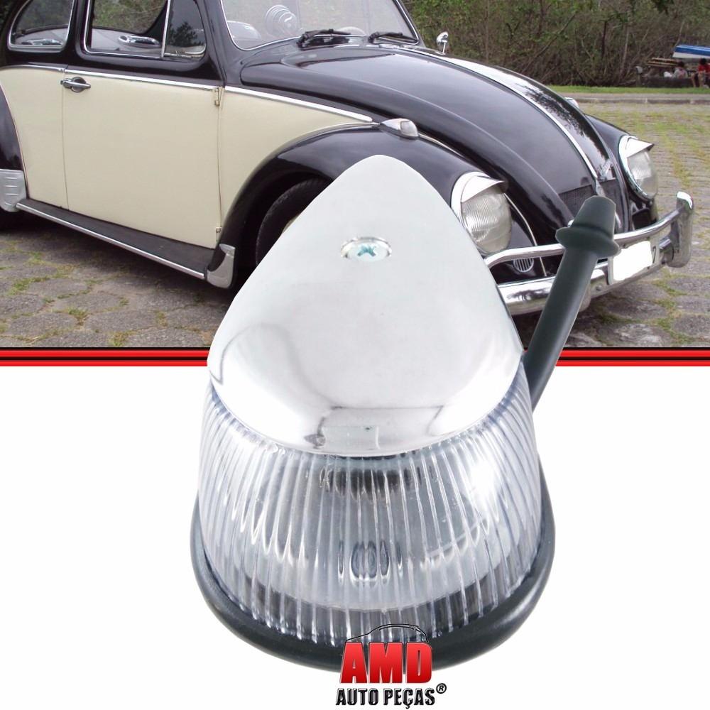 Lanterna Dianteira Fusca 71 a 96 Cristal  - Amd Auto Peças