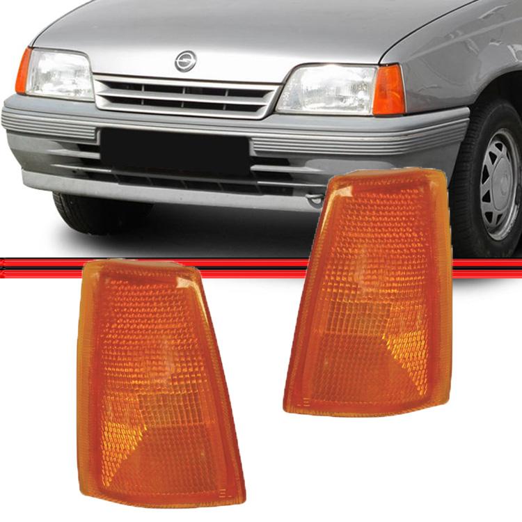 Lanterna Dianteira Pisca Kadett Ipanema 83 A 96 Amarelo  - Amd Auto Peças