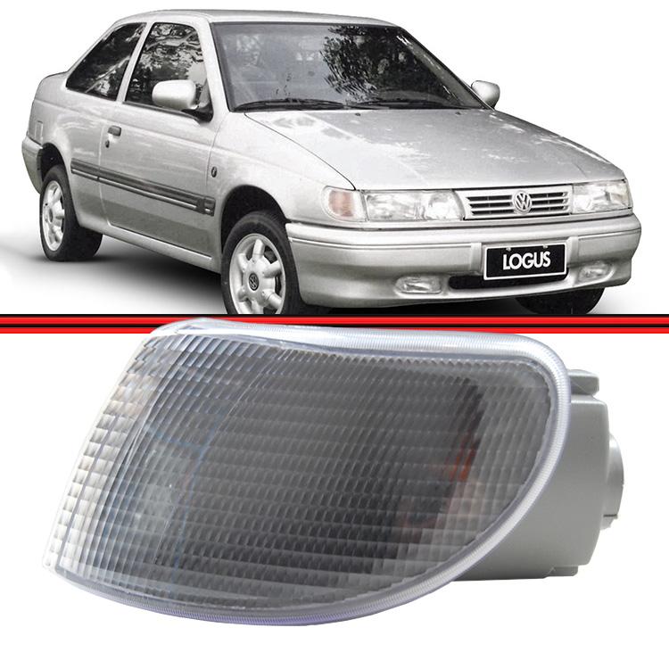 Lanterna Dianteira Logus Pointer 93 a 97 Cristal  - Amd Auto Peças