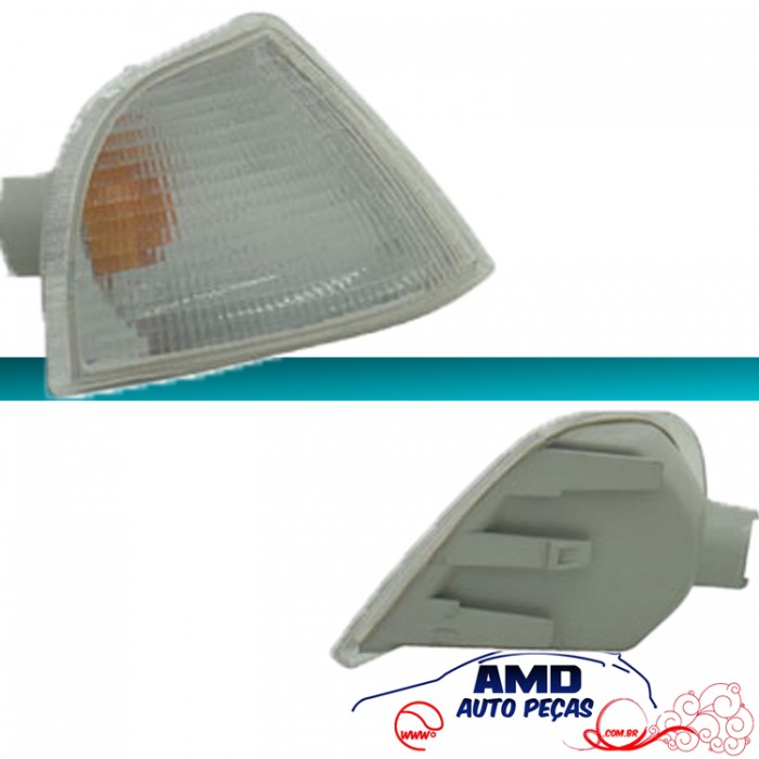 Lanterna Dianteira Monza 91 á 96 Cristal Encaixe Cibié  - Amd Auto Peças