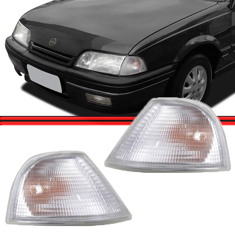 Lanterna Dianteira Pisca Monza 91 á 96 Cristal Encaixe Cibié  - Amd Auto Peças