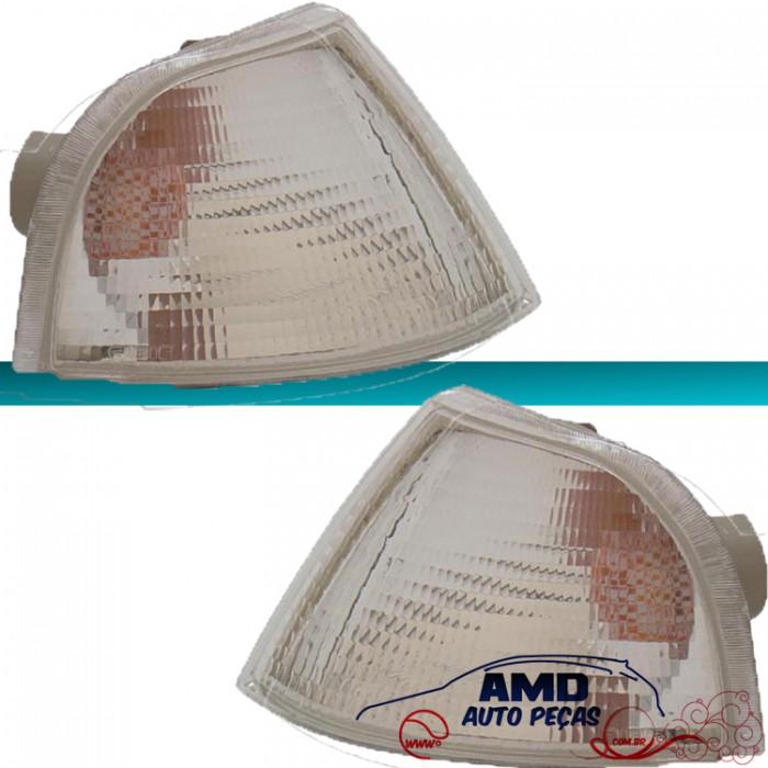 Lanterna Dianteira Monza 91 á 96 Cristal Encaixe Arteb  - Amd Auto Peças