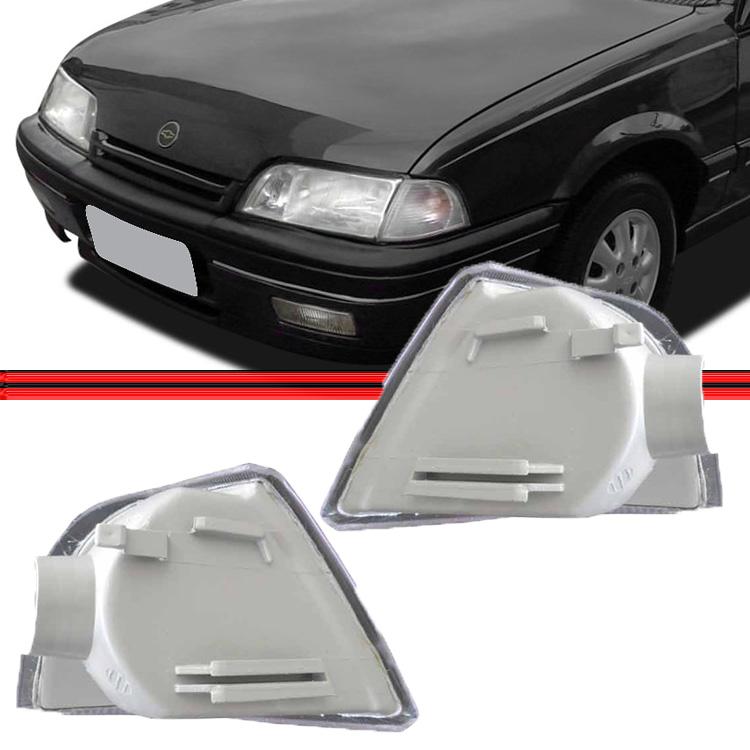 Lanterna Dianteira Pisca Monza 91 á 96 Cristal Encaixe Arteb  - Amd Auto Peças