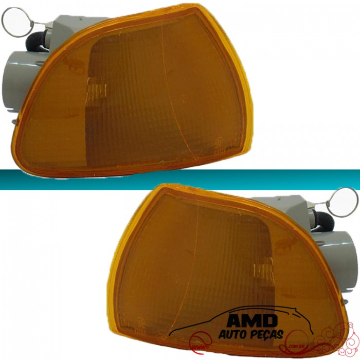 Lanterna Dianteira Palio Siena Strada Weekend 1996 � 2000 Amarelo  - Amd Auto Pe�as