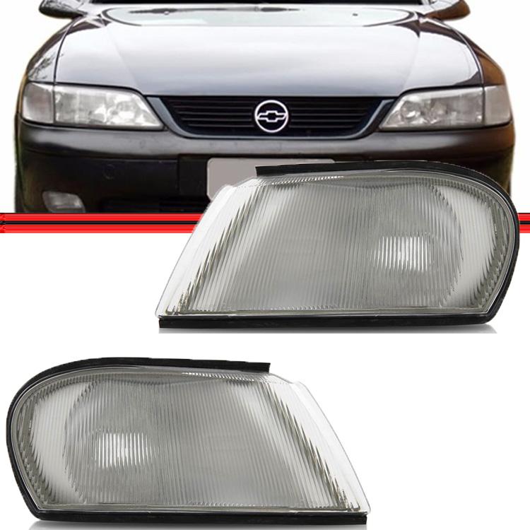Lanterna Dianteira Pisca Vectra 97 a 99 Branco  - Amd Auto Peças