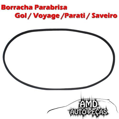 Borracha Parabrisa Gol Voyage Parati Saveiro Quadrado 82 Até 94  - Amd Auto Peças