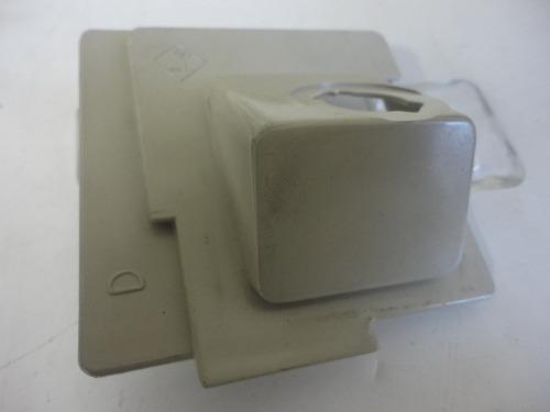 Lanterna Placa S10 Cabine Dupla Simples Estendida Novo  - Amd Auto Peças