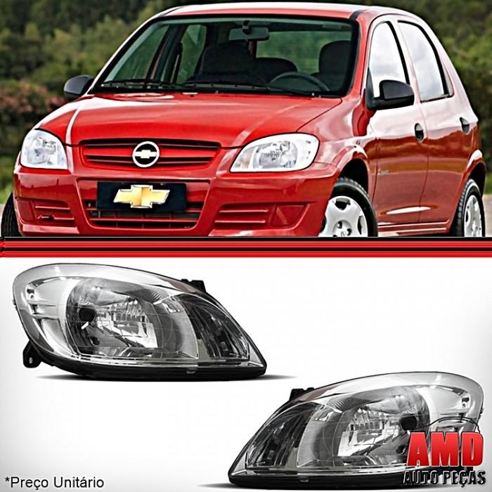 Farol Novo Celta Prisma 2006 a 2011 Original Arteb  - Amd Auto Peças