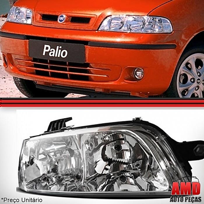 Farol Palio 2001 a 2003 Original Novo  - Amd Auto Peças