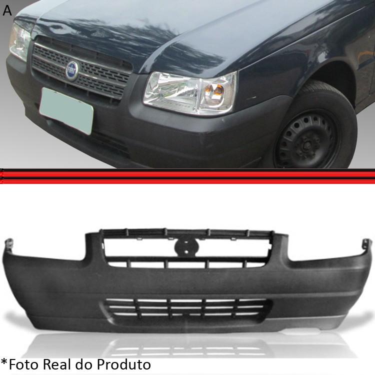 Parachoque Dianteiro Uno Fiorino 04 � 06 Preto Poroso  - Amd Auto Pe�as