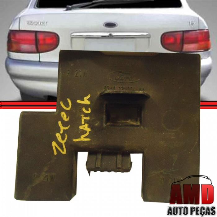Soquete Circuito Lanterna Traseira Escort Zetec Hatch 97 a 02  - Amd Auto Peças
