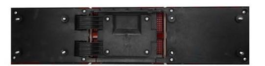 Extensão Aplique Lanterna Traseiro Opala Rubi 87 a 92  - Amd Auto Peças