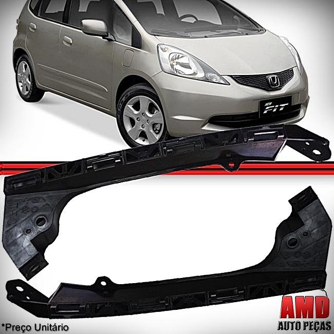 Suporte Farol Original Honda New Fit 2009 a 2013  - Amd Auto Peças