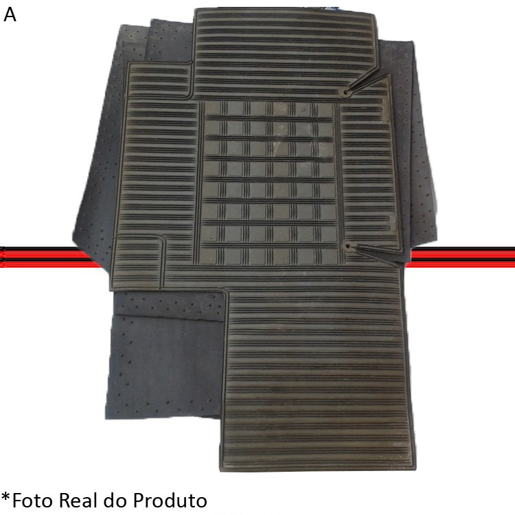 Jogo Tapete Corcel Belina Del Rey 83 á 96 Cinza  - Amd Auto Peças