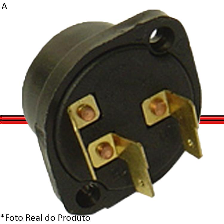 Comutador Elétrico Ignição e Partida Kombi Clipper 75/96 Kombi Carat 97 a 13  - Amd Auto Peças