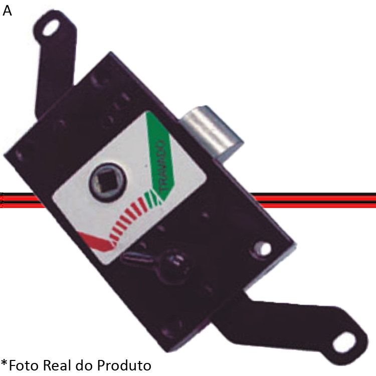 Fechadura Porta Meio Kombi Clipper 75 a 97  - Amd Auto Peças