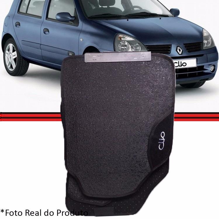 Jogo Tapete Clio 99 a 12 4 Peças Borracha Antiderrapante  - Amd Auto Peças