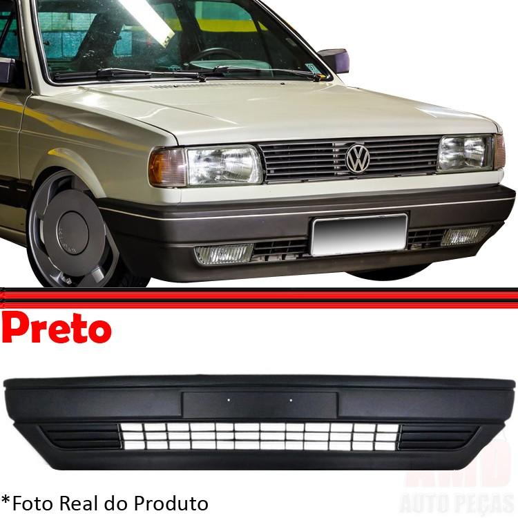 Parachoque Dianteiro Gol Saveiro Voyage Parati 87 á 95 Preto  - Amd Auto Peças