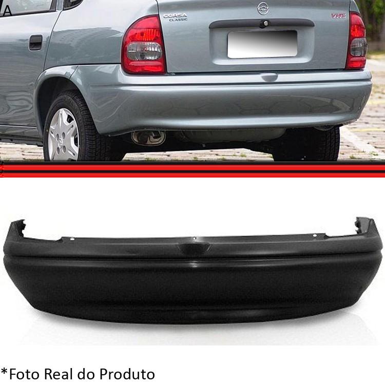 Parachoque Traseiro Corsa Sedan 96 a 99 Classic 00 A 10  - Amd Auto Peças