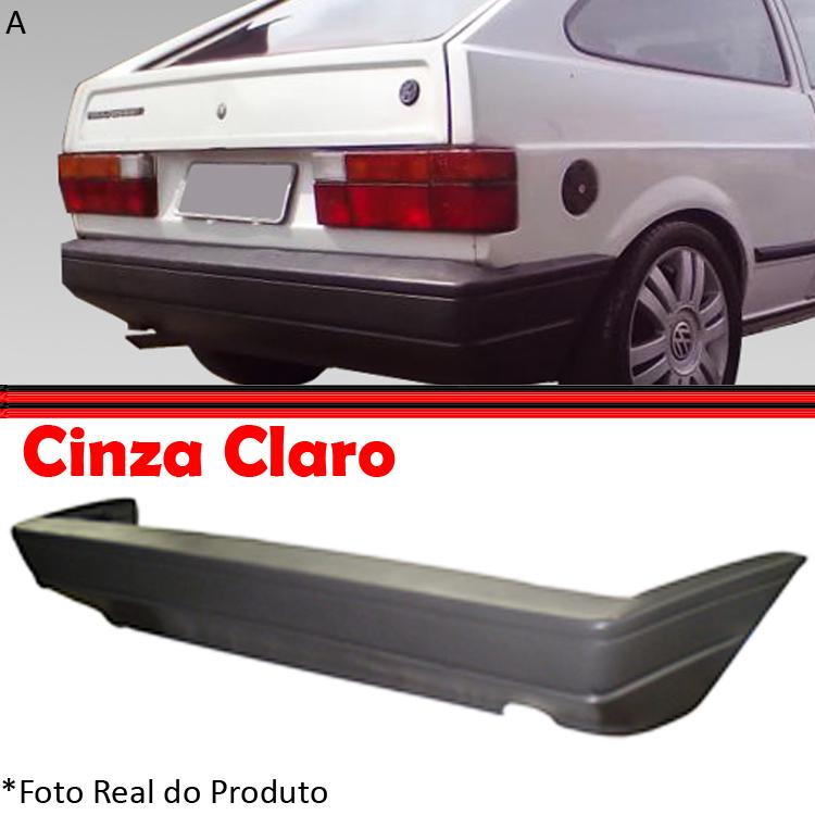 Parachoque Traseiro Gol 87 � 95 Cinza Claro   - Amd Auto Pe�as