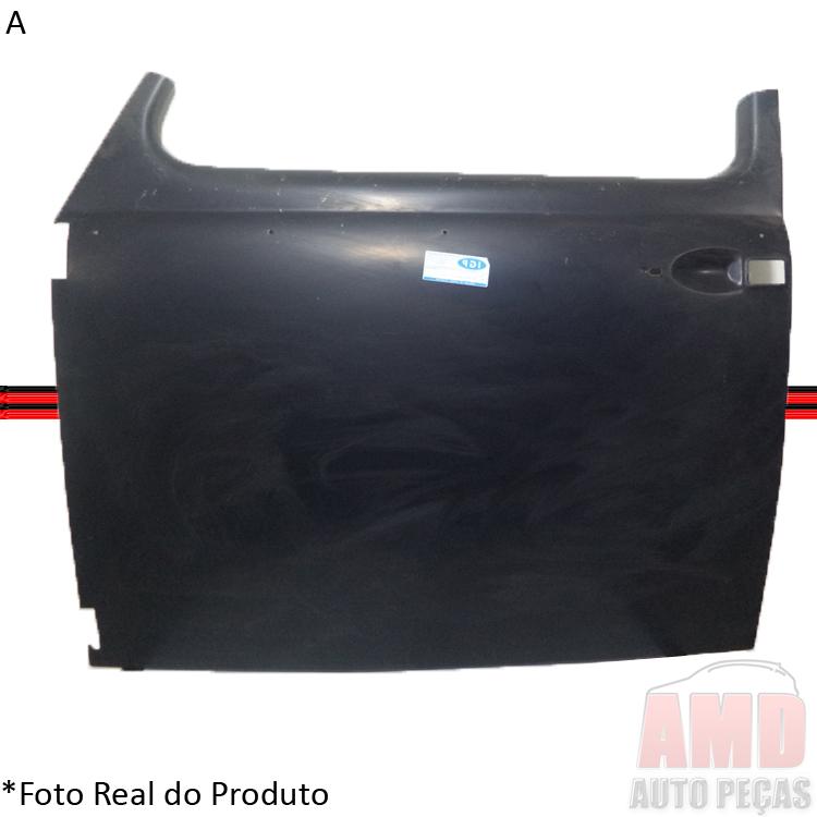 Folha de Porta Fusca 69 a 77 Modelo Maçaneta Botão  - Amd Auto Peças