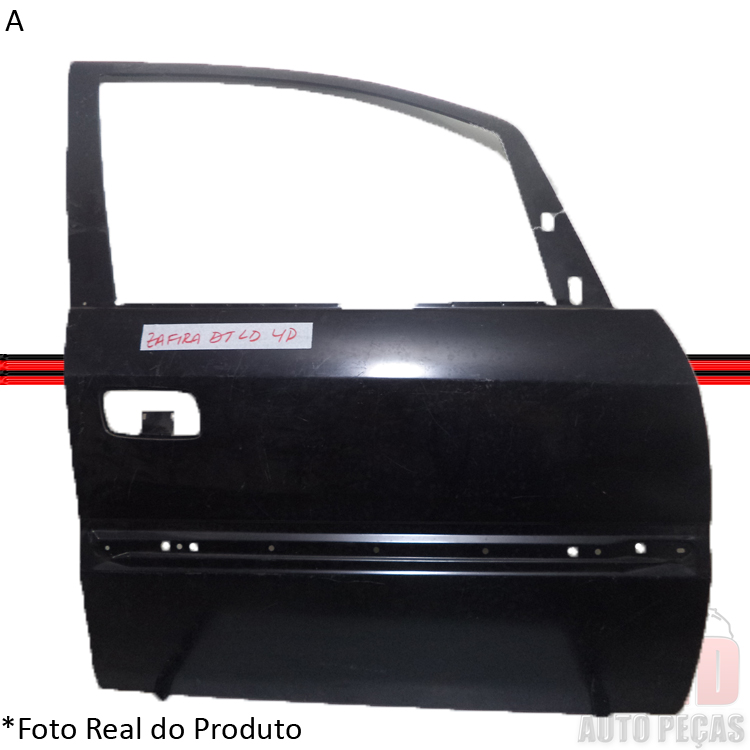 Folha Porta Dianteira Zafira 99 á 11  - Amd Auto Peças