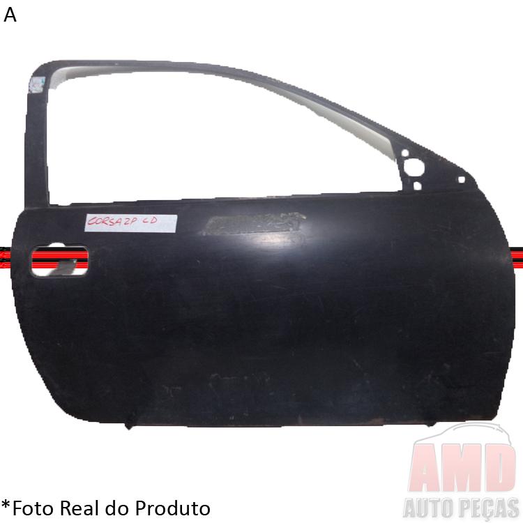Folha Porta Corsa Wind 95 a 00 2 Portas Corsa Pick-up 95 a 03  - Amd Auto Peças