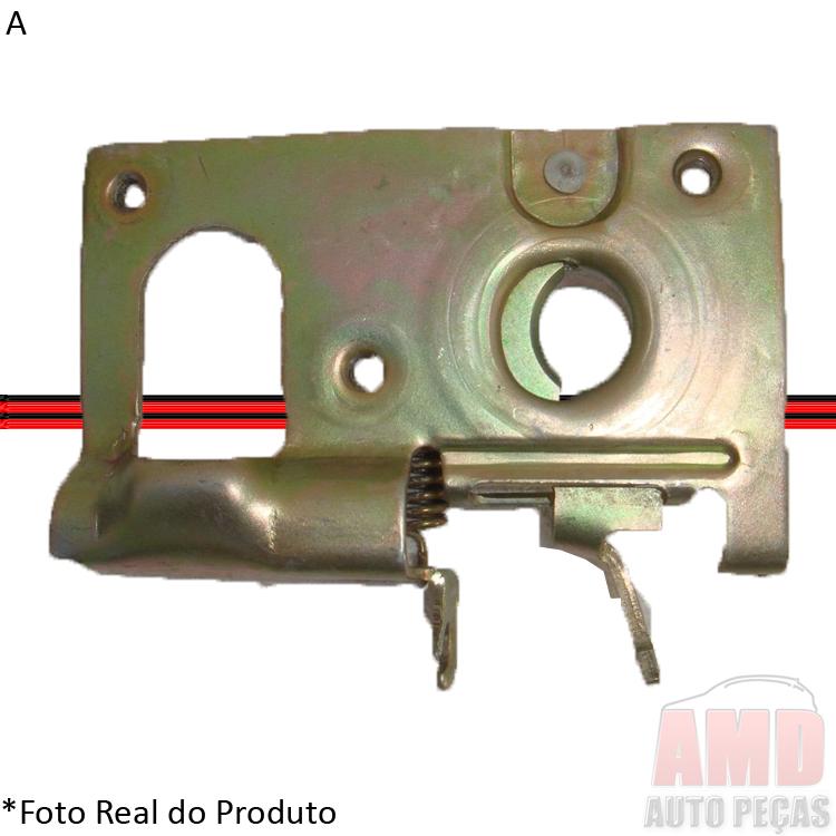 Fechadura Inferior Capô Escort 87 a 92 Escort Hobby 92 a 95 Apollo Verona 90 a 92  - Amd Auto Peças