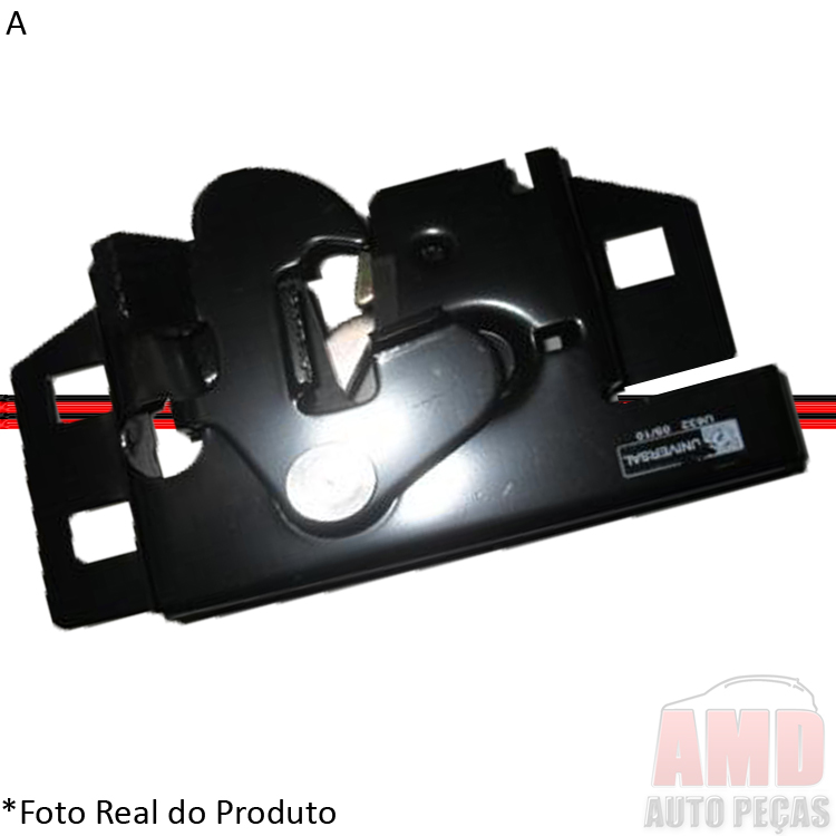 Fechadura Inferior Capô Fiesta 96 a 06 Courier 97 a 13