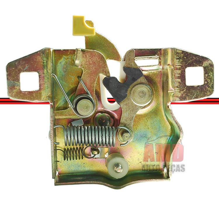 Fechadura Inferior Cap� Ford KA 97 a 07  - Amd Auto Pe�as