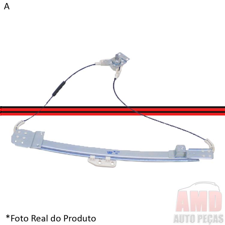 Máquina Vidro Corcel II Del Rey 82 a 96  - Amd Auto Peças