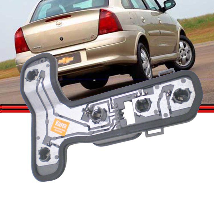 Soquete Circuito Lanterna Traseira Corsa Sedan 03 a 08  - Amd Auto Peças