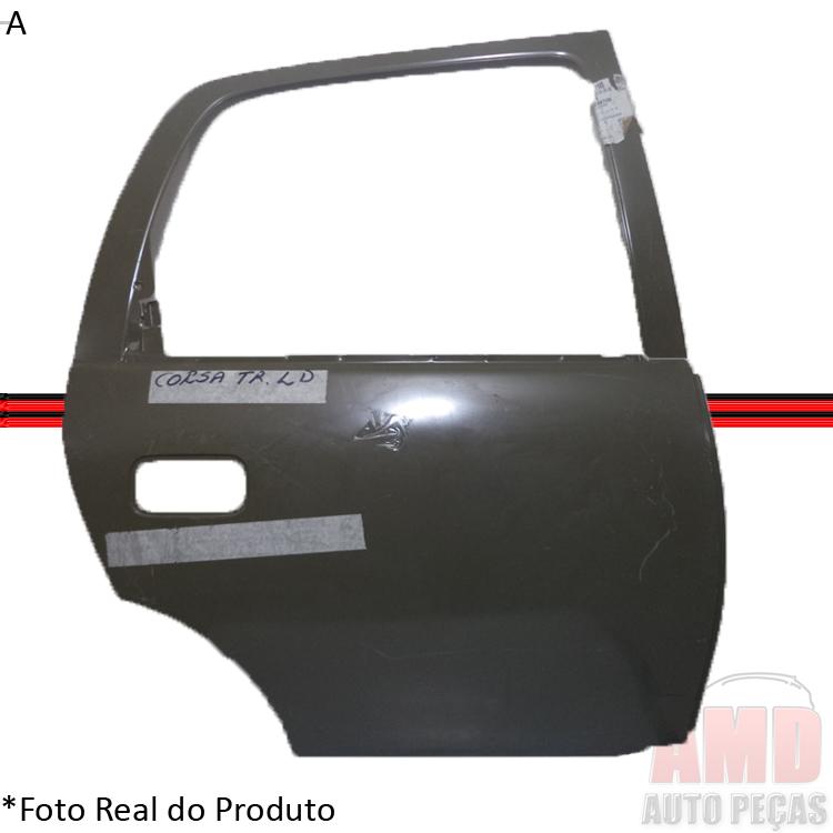 Folha Porta Corsa 95 á 11 Sedan Hatch Traseira  - Amd Auto Peças